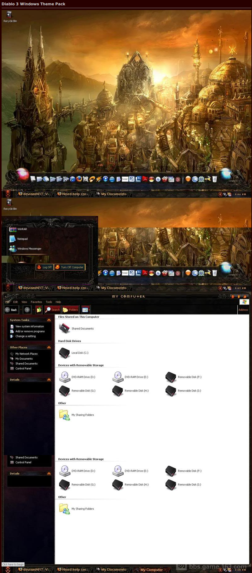 Diablo 3 Windows Theme Pack - Diablo 3 & Diablo 2 Forums.png